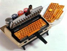 Tastatur Waffeleisen