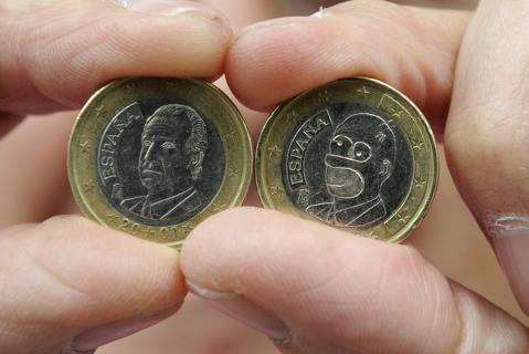 1 Euro Homer Simpson Münze Tagebuch Eines Internetjunkies