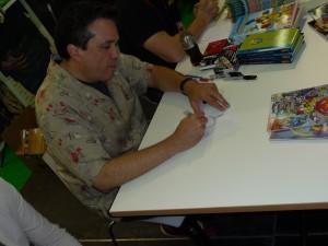 Bill Morrison zeichnet Bender (2)