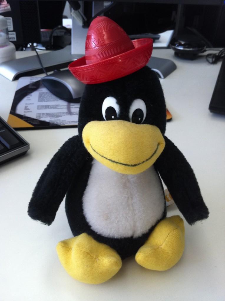 Linux Tux Pinguin Hossa