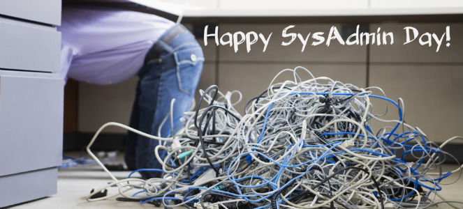 Happy SysAdminDay